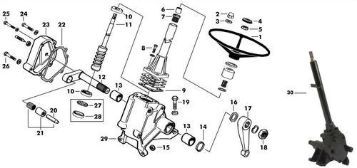 schlepper-teile  u00bb shop wellendichtring lenkgetriebe
