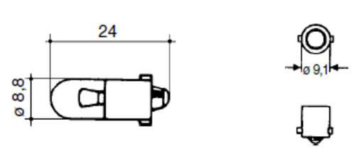 schlepper teile shop 24v 4w gl hbirne instrumente. Black Bedroom Furniture Sets. Home Design Ideas