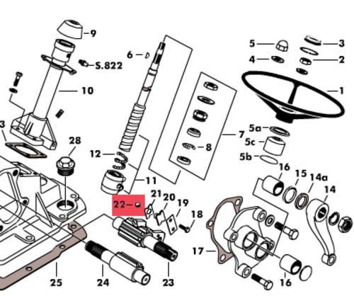 schlepper-teile  u00bb shop kugel 1  2 u0026quot  lenkgetriebe